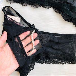 Victoria's Secret Intimates & Sleepwear - Victoria's Secret black lace lingerie set - MEDIUM